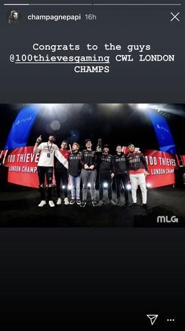 Screenshot via Drake's Instagram