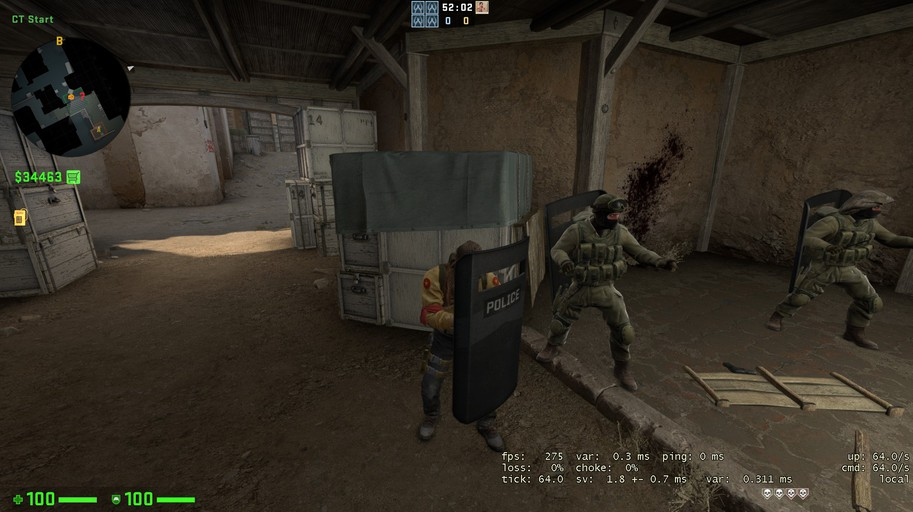 CS:GO blog release notes for May 7: Ballistic shield