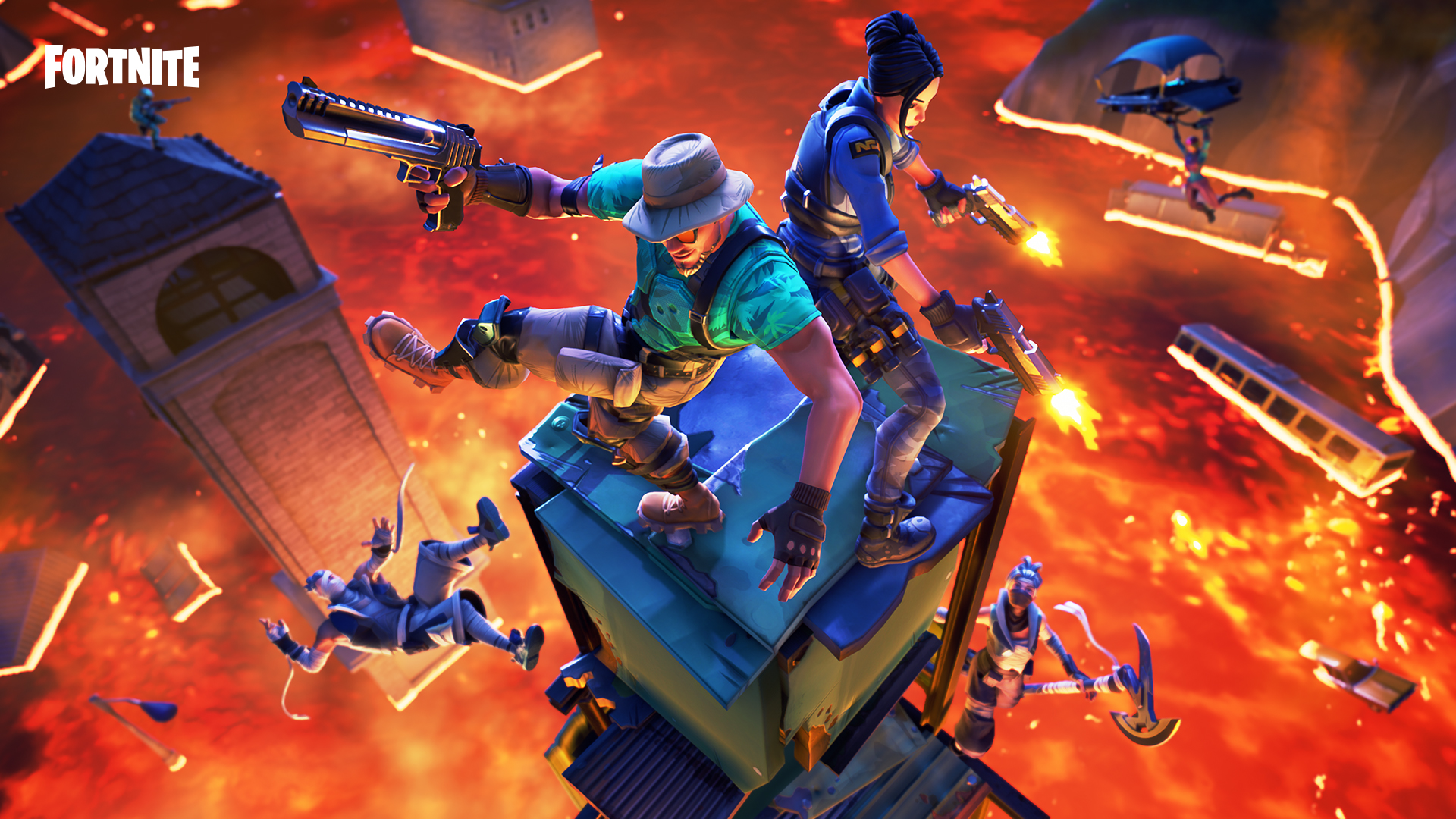 Fortnite fully dedicates to ranked in today's Patch 8.20 image