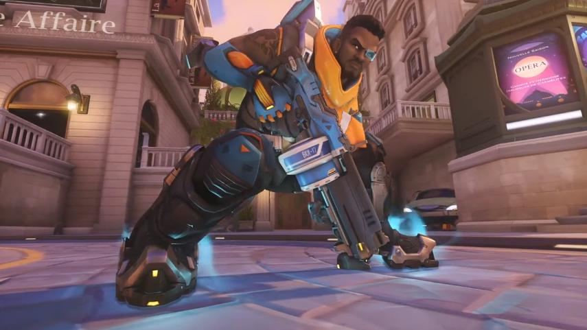 Here's how OWL pros have used Baptiste so far image