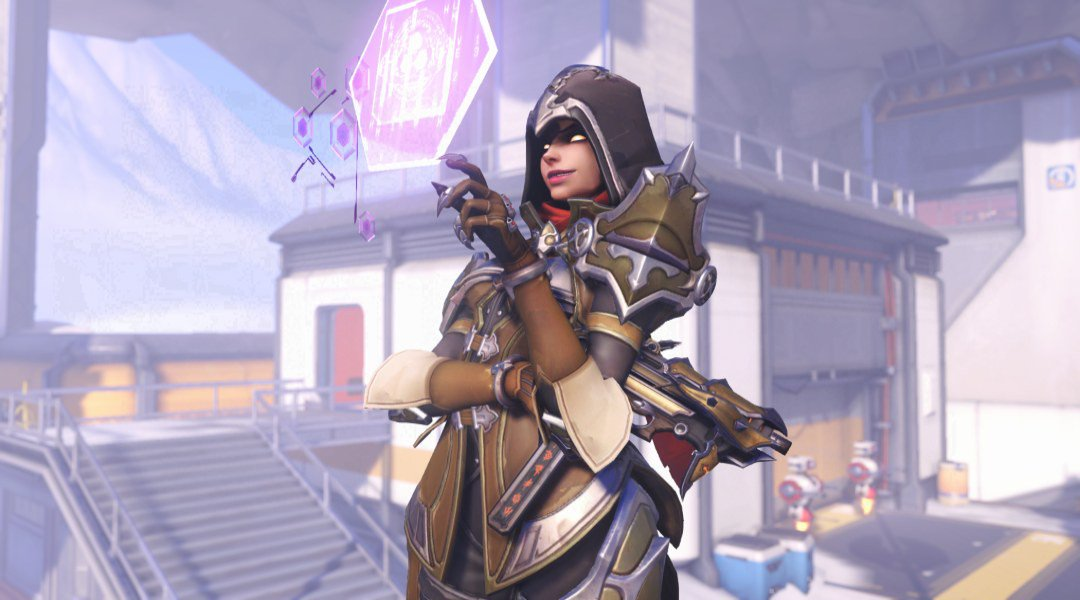 Demon Hunter Sombra Overwatch skin BlizzCon 2018